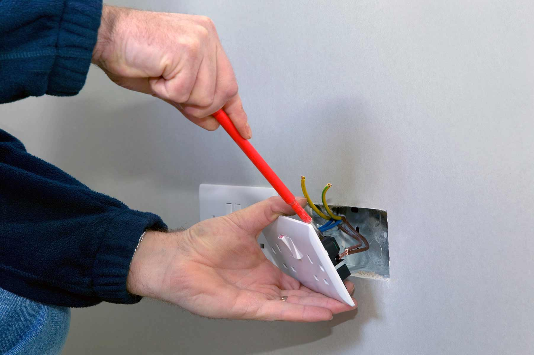 Our electricians can install plug sockets for domestic and commercial proeprties in Lewisham and the local area.